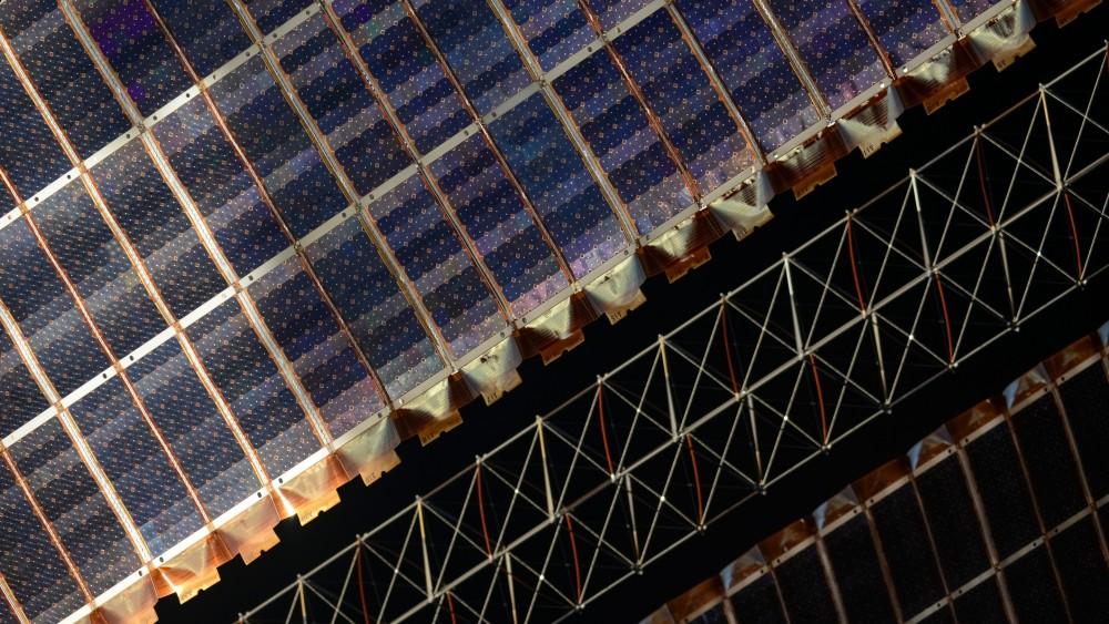 Солнечные панели МКС