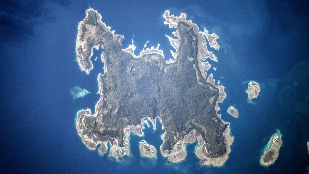 Остров Пулау Вотап, Индонезия