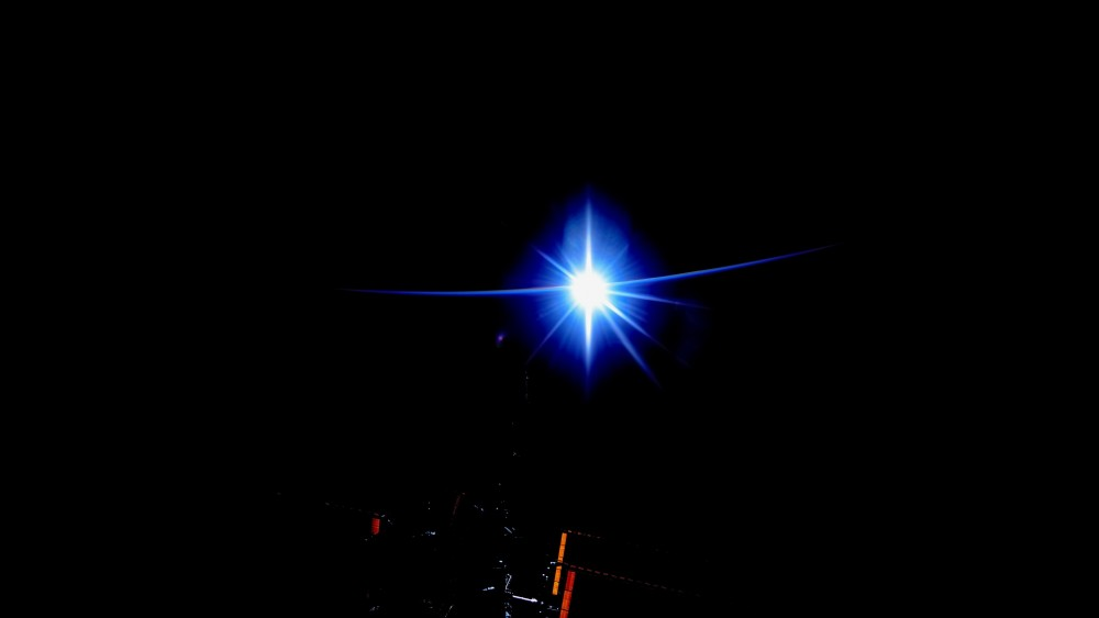 Рассвет на МКС