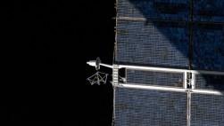 Солнечные панели МКС...