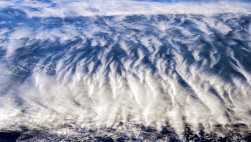 Облака над Южной Америкой...