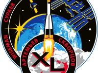 Эмблема 39/40-й экспедиции на Международную Космическую Станцию