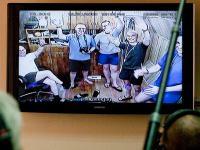 Экипаж 105-суточной изоляции приветствует всех, кто пришел их поздравить с Днём Космонавтики