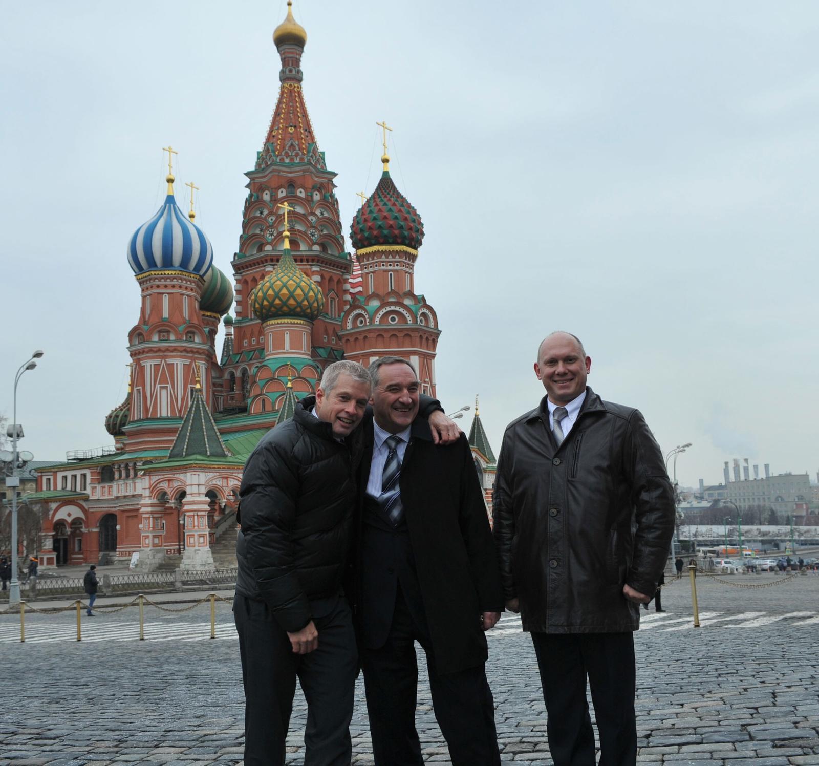 Посещение Красной Площади