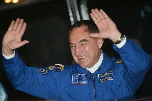 Перед полётом МКС-39/40