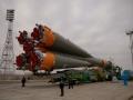 "Вывоз РКН ""Союз"" (""Soyuz-FG"" Taking Out)"