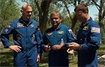 Продолжается подготовка к запуску экипажа МКС-40