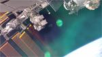 Небольшое видео с борта МКС 2