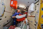 Работа на МКС. Подготовка к приёму ATV5