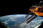 Вид с МКС на Крым, Азовское море и Украину