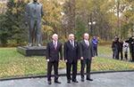Торжественная встреча членов экипажа МКС-39/40 в Звёздном Городке
