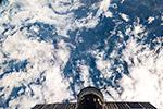 Облака над северной Бразилией