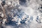 В районе горы Гьячунг-Канг, Гималаи