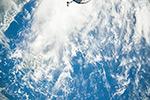 Облака над океаном