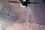 Пыльная (песчаная) буря в Алжире