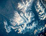 Над Патагонией. Южная Америка