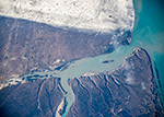 На границе осени и зимы. Дельта реки Санта Крус, Аргентина