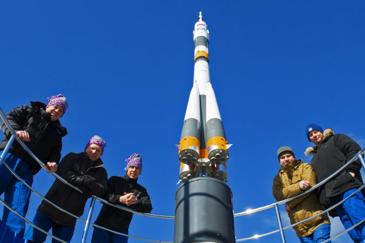 "Control Survey of ""Soyuz MS-08"""