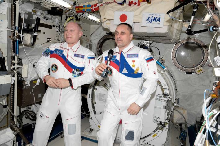 Запись поздравления к Дню Космонавтики