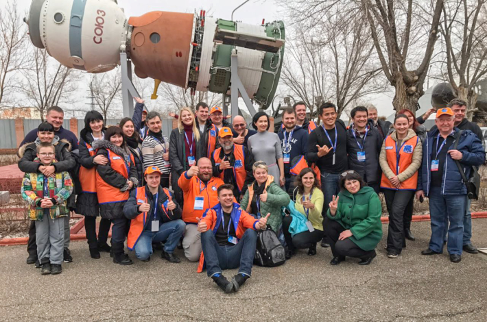 Thank you very much for your support in Baikonur