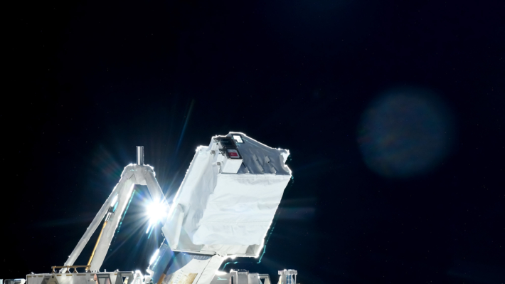 Tree micro Satellites were successfully deployed