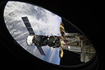 Отстыковка Союз МС-07от Международной космической станции