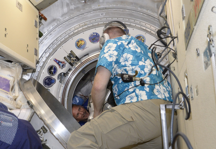 New Crew Arrives on Space Station