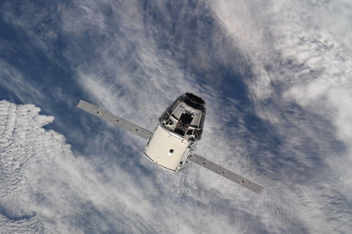 Yesterday SpaceX Dragon successfully docked with the ISS.