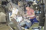 После выхода в космос - Американский контейнер с питанием