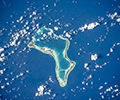 Атолл Диего-Гарсия — крупнейший остров-атолл архипелага Чагос