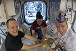 25 августа 2018 г. - празднование Дня Рождения Эндрю Фойстела на МКС