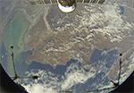 Пролетаем над Актау, Казахстан